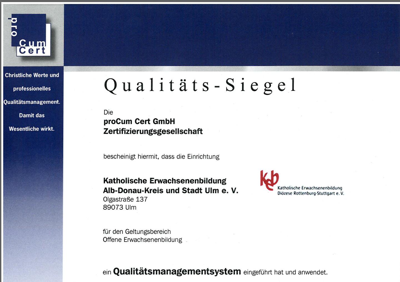 Bild:Qualitätssiegel